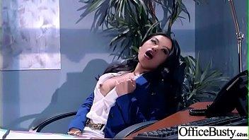 (Cindy Starfall) Naughty Slut Big Tits Girl Get Nailed In Office vid-10