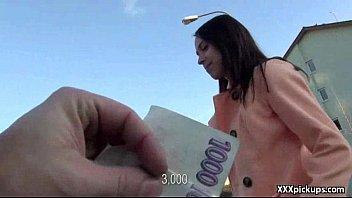 Public Pickups - Amateur Teen Sexy Slut Fucks In Public For Cash 10