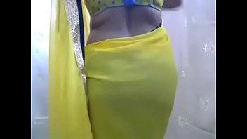 desi bhabhi unsheathing yam-sized titties on.